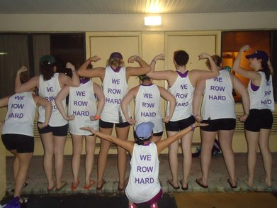 We Row Hard T-Shirt Photo