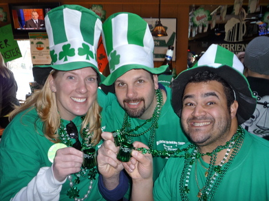 Saint Patrick's Day Newport Style 2011 T-Shirt Photo