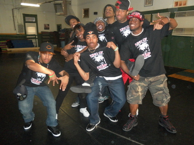 Koncrete Eden Dance Crew T-Shirt Photo