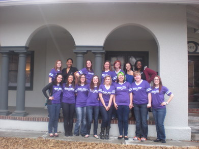 Delta Rho Parent's Weekend T-Shirt Photo