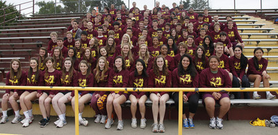 Menlo Atherton High School Track And Field Team T-Shirt Photo