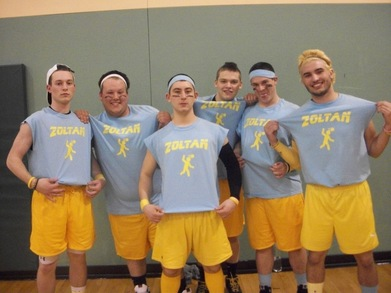 Team Zoltan (Dodgeball Tournament) T-Shirt Photo