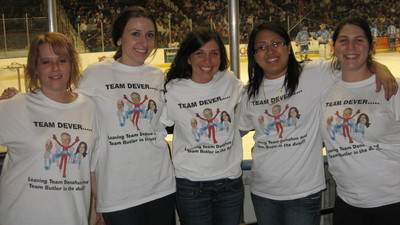 Broom Ball Fundraiser To Fight Prostate Cancer T-Shirt Photo