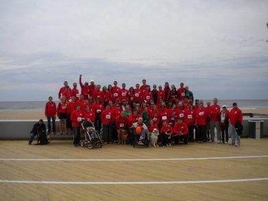 2010 Ms Walk, Team Viking Quest T-Shirt Photo