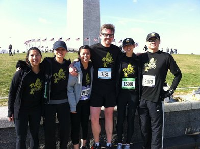 Pho Fighters @ Cherry Blossom 10 Miler T-Shirt Photo
