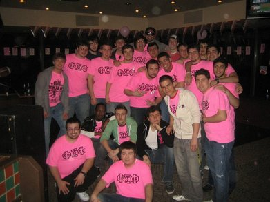 Phi Sigma Phi Presents Pink Party 2011 T-Shirt Photo
