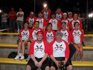 I'd Hit That Coed Softball Team T-Shirt Photo