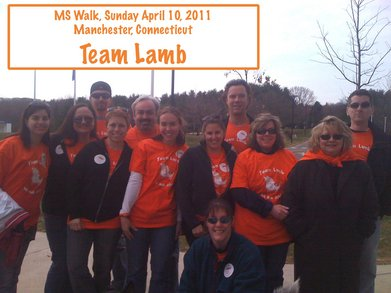Team Lamb Ms Walk T-Shirt Photo