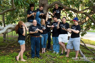 Happy Tree Films Crew! T-Shirt Photo