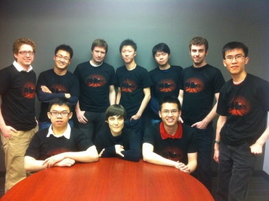 Team Uken! T-Shirt Photo