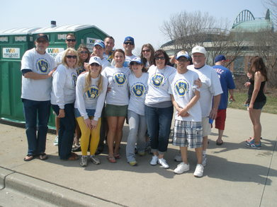 Miller Park Bachelor(Ette) Tailgate T-Shirt Photo
