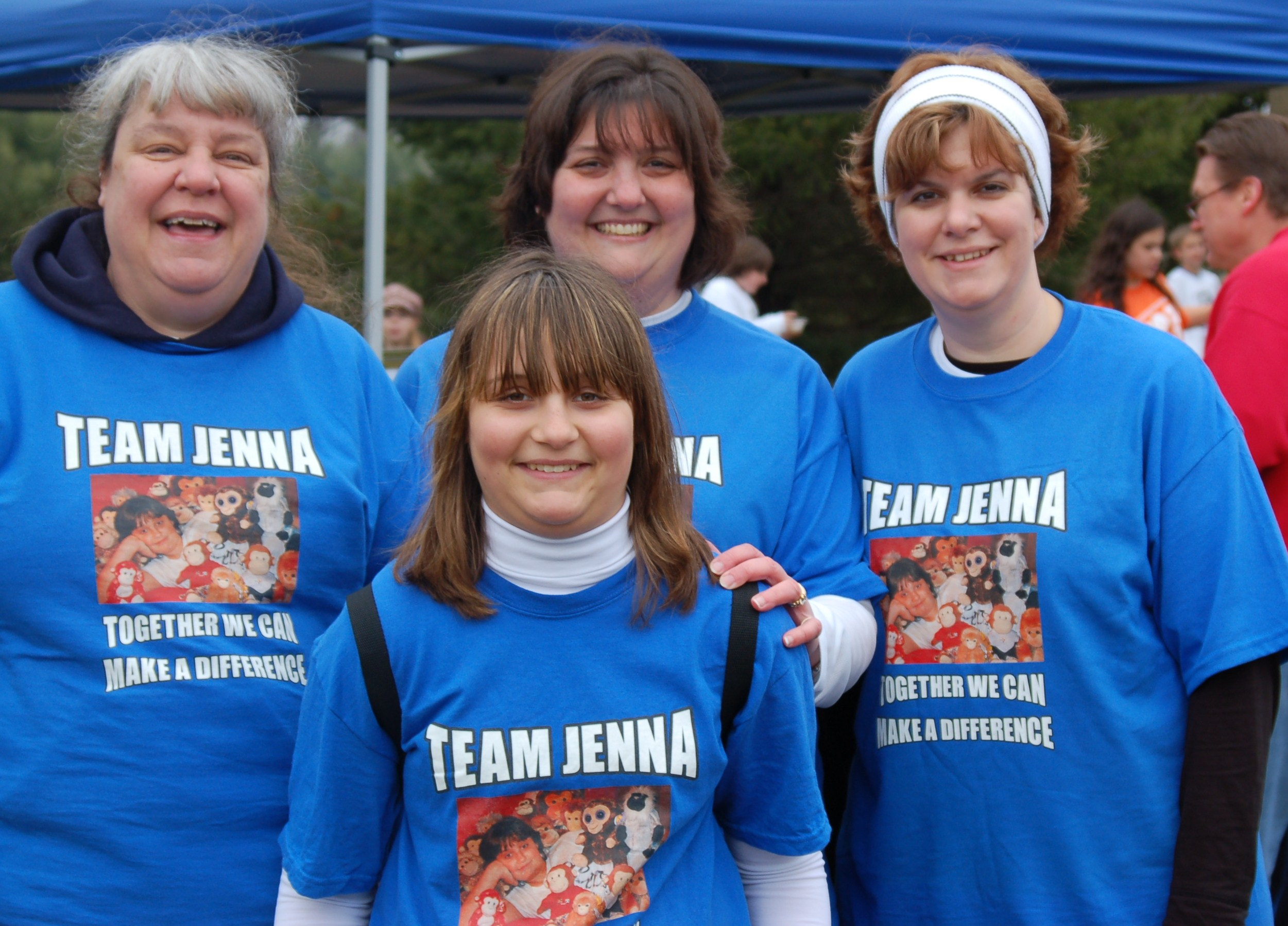 Custom t shirts for team jenna jdrf shirt design ideas for Jdrf one walk t shirts