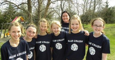 Blue Crush Volleyball 2011 T-Shirt Photo