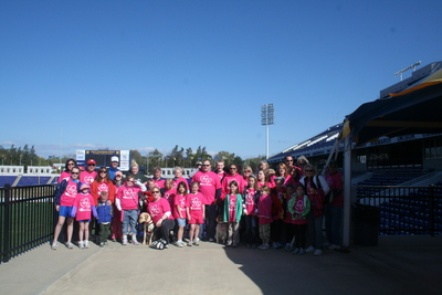 Jdrf Walk For The Cure  T-Shirt Photo
