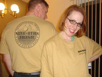 Nine 8ths Irish T Shirts Have Arrived!! T-Shirt Photo