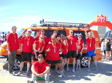 The Away Team Has Landed At The Ragnar Finish Line T-Shirt Photo