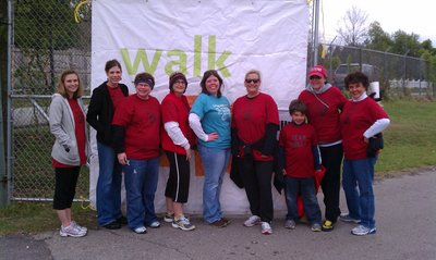 Team Shelly   Fayetteville Ms Walk T-Shirt Photo