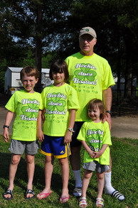Family Cheers For Big Sister Beckie Running Boston Marathon T-Shirt Photo