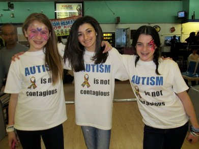 Curing Autism, One Step At A Time T-Shirt Photo