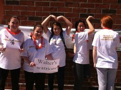 Walter's Warriors T-Shirt Photo