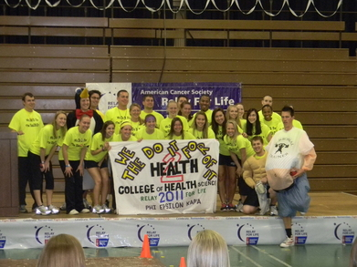 We Do It For The Health Of It Team For Relay For Life 2011 T-Shirt Photo