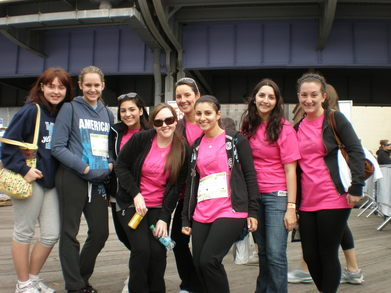 Pretty Little Walkers At Walk Ms Nyc T-Shirt Photo