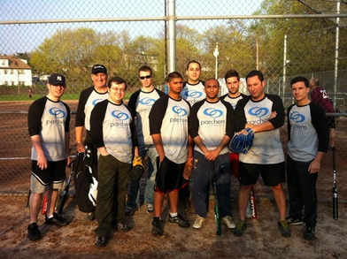 The First Parchem Softball Team T-Shirt Photo