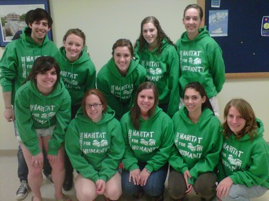Ithaca College Habitat For Humanity Executive Board T-Shirt Photo