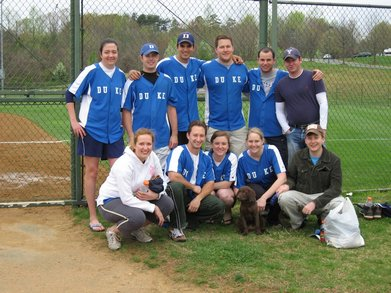 Duke Law Softball T-Shirt Photo