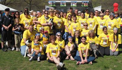 Wvt Usad Start Heart Walkers T-Shirt Photo