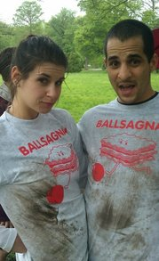 Rain & Mud Can't Stop The Power Of The Ballsagna T Shirts T-Shirt Photo