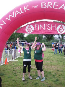 We Did It ... 40 Miles For A Cure! T-Shirt Photo