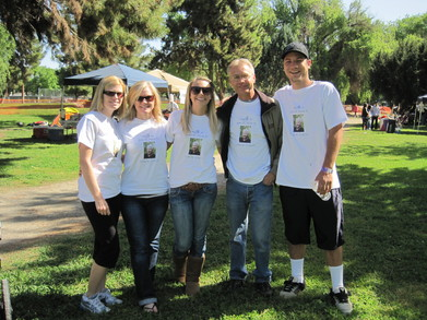 Nelson Family, Relay For Life 2011 T-Shirt Photo