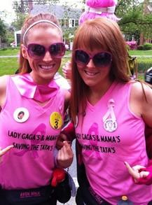 Lady Ga Ga's & Ma Ma's Saving The Ta Ta's! T-Shirt Photo
