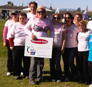 Cambrian Relay For Life 2011 T-Shirt Photo