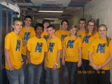 St. James Regional High Robotics Club! T-Shirt Photo