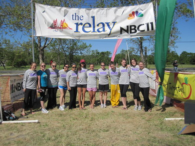 24 Bb   4 Years Running Relay Team T-Shirt Photo