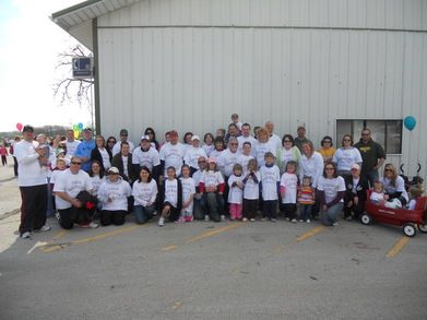 Team Katelyn  Walk To Cure Diabetes T-Shirt Photo