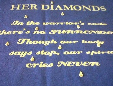 Her Diamonds T-Shirt Photo