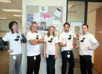 Las Dokas In The Office T-Shirt Photo