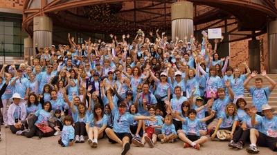 Breast Cancer Charity Walk Team Taras T-Shirt Photo