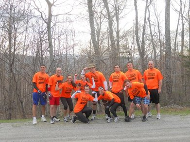 Tough Mudder Fockers Take On Tough Mudder At Mt. Snow T-Shirt Photo