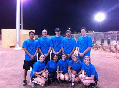 Best Softball Team Ever! T-Shirt Photo