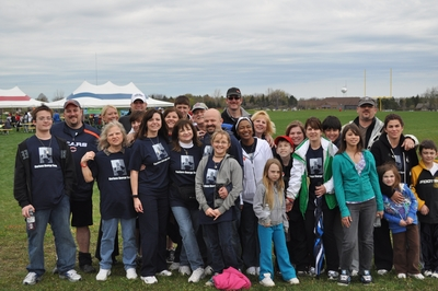 Heart Walk In Loving Memory Of George Paradies T-Shirt Photo