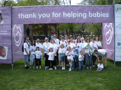 March For Babies   Boston Walk T-Shirt Photo