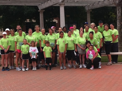 The American Bank A Team Walks For The Cure T-Shirt Photo