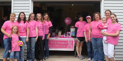 2nd Annual Cookies For The Cure T-Shirt Photo