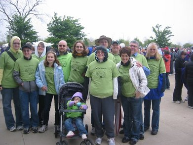 American Brain Tumor Assoc. 5k Walk T-Shirt Photo