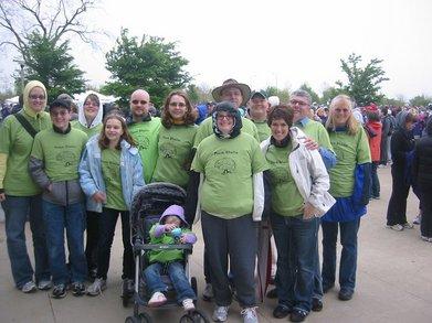 American Brain Tumor Assoc. 5k Walk T-Shirt Photo