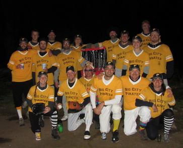 Big City Pirates Disc Golf Team T-Shirt Photo